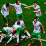 Ireland players . Photo: Ray McManus / Sportsfile