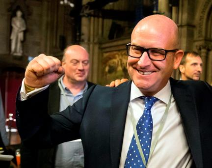 UKIP deputy leader Paul Nuttall said his party does not believe the return of a border is on the cards. Photo: Danny Lawson/PA Wire