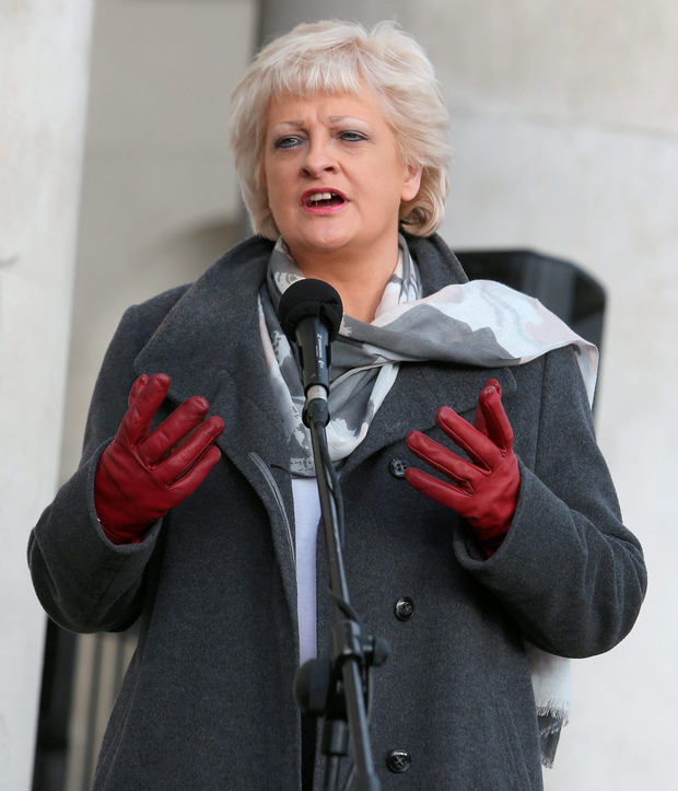 ICTU chief Patricia King expressed fears that a 'race to the bottom' that has already driven down wages and living standards across the Border, may take hold here. Photo: Damien Eagers