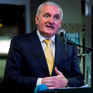 Bertie Ahern would consider a return if there was a poll