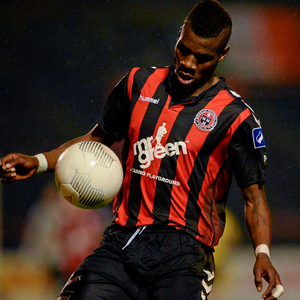 Ismahil Akinade, Bohemians. Picture: Sportsfile