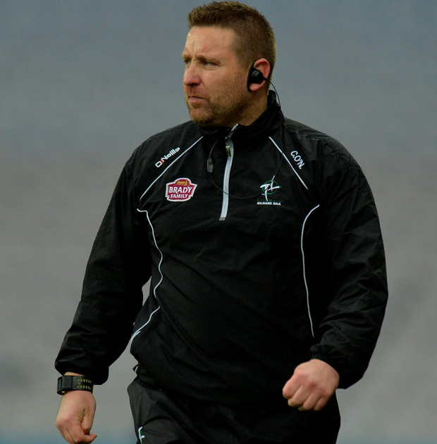 Kildare manager Cian O'Neill. Picture: Sportsfile
