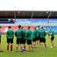 Ireland players take a walk on the pitch ahead of the World Rugby U20 Championship 2016 Final match at the AJ Bell Stadium, Manchester. Picture date June 24th, 2016 Pic Matt McNulty/Sportimage