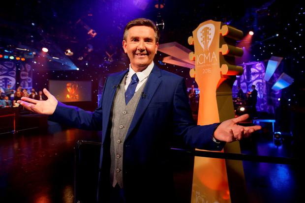 Daniel O'Donnell hosting the inaugural RTÉ Irish Country Music Awards on RTÉ One. Picture: Andres Poveda
