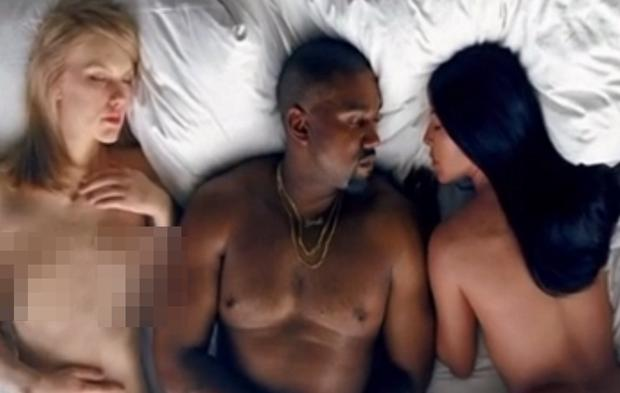 Kanye West Drops Nsfw Video For Famous Featuring A Naked -7173
