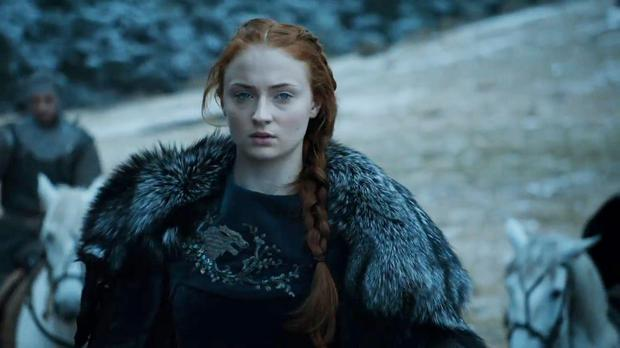 Sophie Turner as Sansa in Game of Thrones
