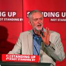 Labour Party leader Jeremy Corbyn speaks on immigration and moving on after the EU referendum, in central London
