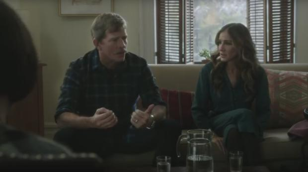 Sarah Jessica Parker and Thomas Haden Church in Divorce
