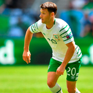 'If it wasn't for Wes Hoolahan there would be no game against France today. Ireland would have departed the championships without a goal to our name.' Photo: Stephen McCarthy/Sportsfile