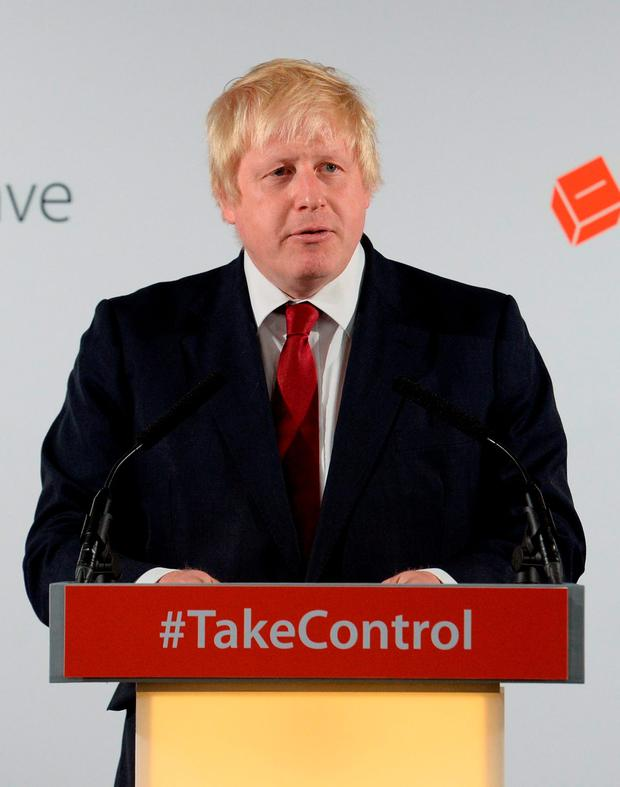 Victor: Boris Johnson is by no means a 'Little Englander'. Photo: PA