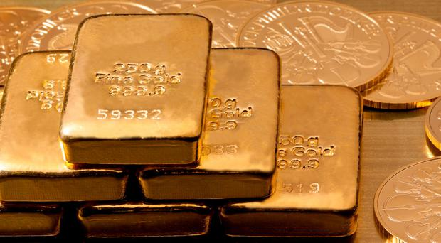 'Gold dealers in London reported surging demand for coins and bars among retail investors on Friday, with some saying stocks were tight.' File photo: Depositphotos