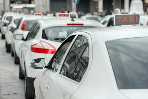 'The cost of taxi insurance has spiralled by up to 300pc in the past year in some cases' File photo: Depositphotos