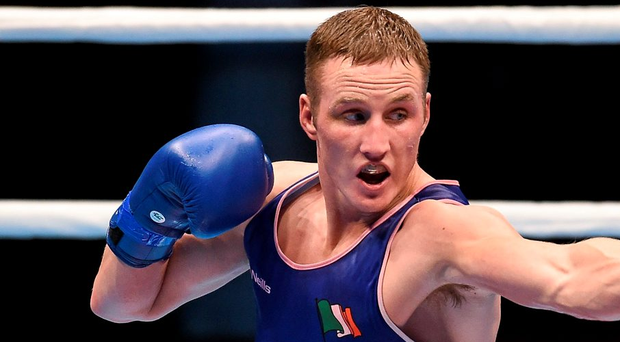 Boxer Michael O'Reilly. Photo: Paul Mohan / Sportsfile