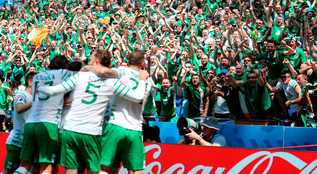 Ireland are now 31st in the latest FIFA world rankings
