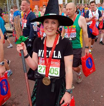 Nicola Nuttall said she bought the dress on eBay and had the costume approved by Guinness World Records