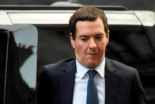 George Osborne. Photo: Reuters