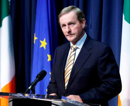 Taoiseach Enda Kenny must try to stay in with the black sheep Britain while simultaneously reassuring the rest of the EU family that he's on board with their plans. Photo: Tom Burke