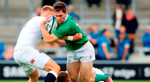 Conor O'Brien of Ireland in action. Photo by Matt McNulty/Sportsfile