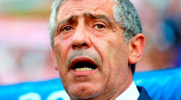 Portugal manager Fernando Santos. Photo: Clive Mason/Getty Images