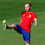 Spain's Andres Iniesta. Photo: Albert Gea/Reuters