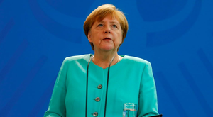 German Chancellor Angela Merkel has said there is no rush for Britain to trigger its exit from the EU and the UK should decide the timing on this. Photo: Hannibal Hanschke/Reuters