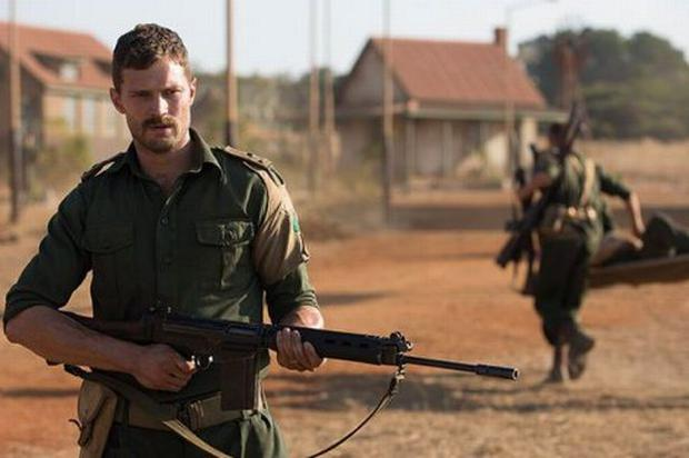Jamie Dornan as Pat Quinlan in The Siege of Jadotville