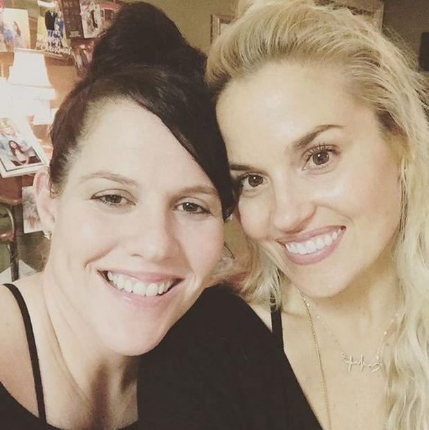 Jamie Howell (38) acted as a surrogate for her best friend Whitney Britt (37) Photo Credit Instagram: @wbritt