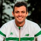 Ireland captain: Thomas Barr. Photo: Sam Barnes/Sportsfile