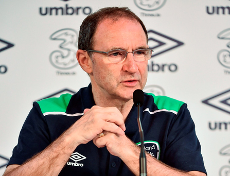 Martin O'Neill: 'We've done very well, I'm delighted with the team and the way they've performed. Do I think we should go into the World Cup with decent confidence? Yes. Do I think some of the players have performed incredibly well, even beyond what they maybe felt themselves? Yes, absolutely' Photo: David Maher/Sportsfile