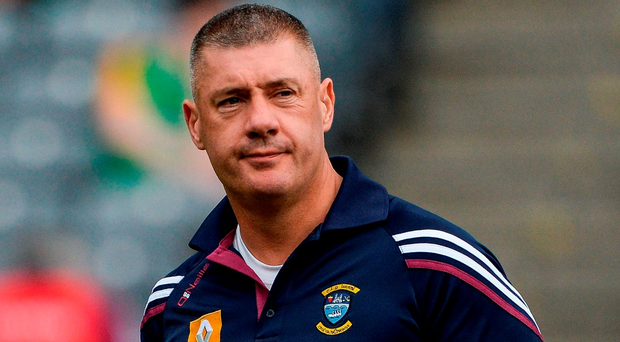 Westmeath manager Tom Cribbin. Photo by Oliver McVeigh/Sportsfile