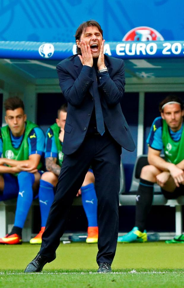 Italy manager Antonio Conte Photo: REUTERS/Christian Hartmann