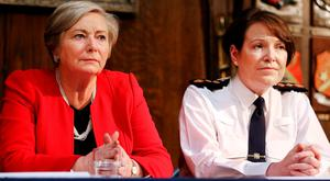 After securing Cabinet approval, Tánaiste and Justice Minister Frances Fitzgerald will ask Garda Commissioner Nóirín O'Sullivan to identify six stations that were closed amid great controversy in 2012 for re-opening on a trial basis. Photo: Steve Humphries