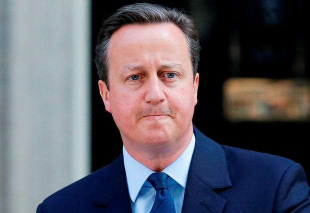 David Cameron has said that hate crimes targeted at migrants in the UK in the wake of the EU referendum must be 'stamped out'. Photo: Daniel Leal-Olivas/PA Wire