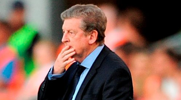 Roy Hodgson resigned as England manager shortly after the match ended Photo: Anthony Devlin/PA Wire