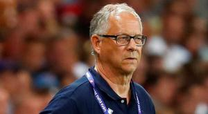 Iceland joint manager Lars Lagerback Photo: REUTERS/Kai Pfaffenbach