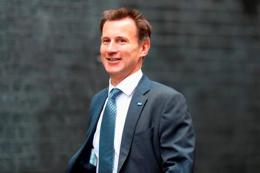 Health Secretary Jeremy Hunt is the first minister to suggest Britain could hold another vote on Brexit, despite the 'Leave' victory last week. (Photo by Dan Kitwood/Getty Images)
