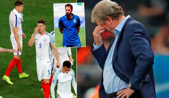 Gareth Southgate has been installed as favourite to replace Roy Hodgson
