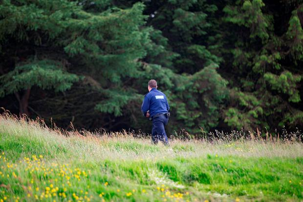Gardai investigate an incident at the Hell Fire Club Pictures:Arthur Carron