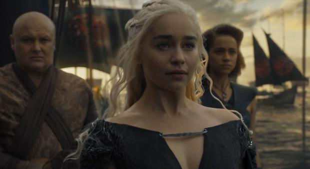 Varys sails to Westeros with Tyrion and Daenerys. Photo: Game of Thrones / HBO