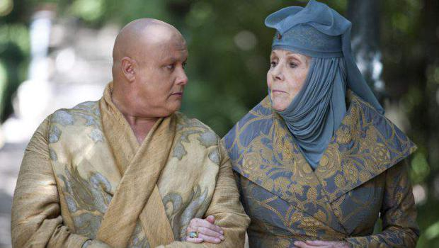 Varys meets with Olenna Tyrell. Photo: Game of Thrones / HBO