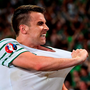 Seamus Coleman showed pride as Ireland captain