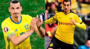 Ibrahimovic and Mkhitaryan are expected to move to Manchester United