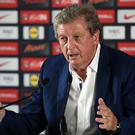 England manager Roy Hodgson speaks at a press conference in Chantilly, northern France, on June 28, 2016, after his resignation following the team's 2-1 defeat to Iceland during the Euro 2016 football tournament. / AFP / PAUL ELLIS (Photo credit should read PAUL ELLIS/AFP/Getty Images)