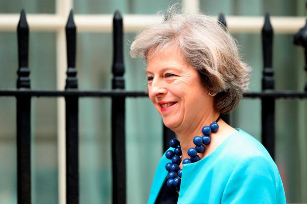 Theresa May: Britain's home secretary is new favourite. Photo by Dan Kitwood/Getty Images