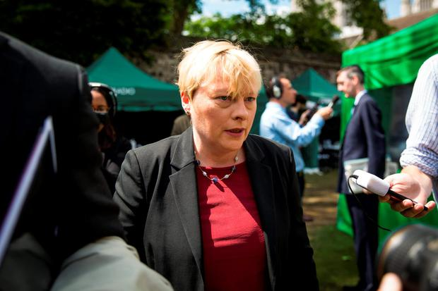 Angela Eagle: may run as a Labour 'unity' candidate. (Photo by Jack Taylor/Getty Images)