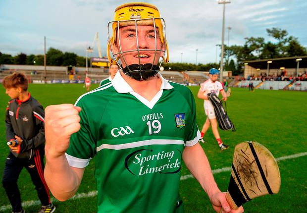 Limerick's two-goal hero Oisin O'Reilly. Picture credit: Seb Daly/Sportsfile