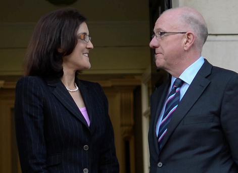 Foreign Affairs Minister Charlie Flanagan is due in Belfast today for the Government's first cross-border contacts since the Brexit referendum. Photo: Artur Widak/NurPhoto via Getty Images