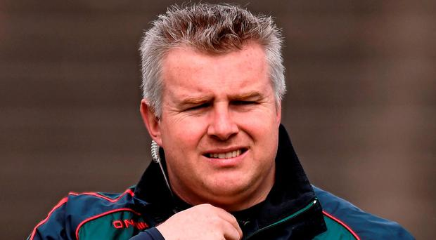 Stephen Rochford could be taking Mayo to Ballybofey, Clones or Pairc Ui Rinn on July 16. Picture credit: David Maher / SPORTSFILE