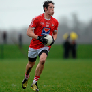 Declan Byrne is among the Louth players complaining about the county having to play a Round 1 Qualifier clash with Derry six days after losing to Meath in the Leinster quarter-final. Picture credit: Paul Mohan / SPORTSFILE
