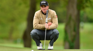 Paul Dunne will join Rory McIlroy, Shane Lowry, Graeme McDowell and Darren Clarke at Royal Troon from July 14-17. Picture credit: Matt Browne/Sportsfile